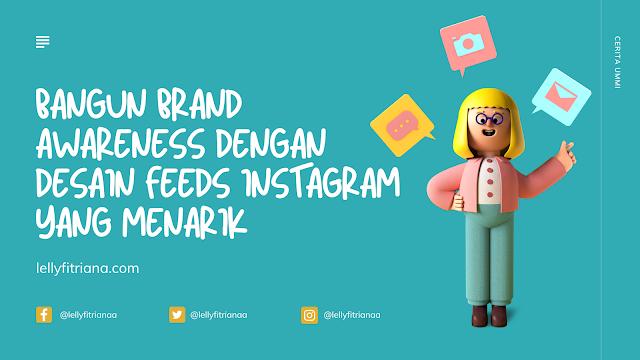 Desain feed instagram