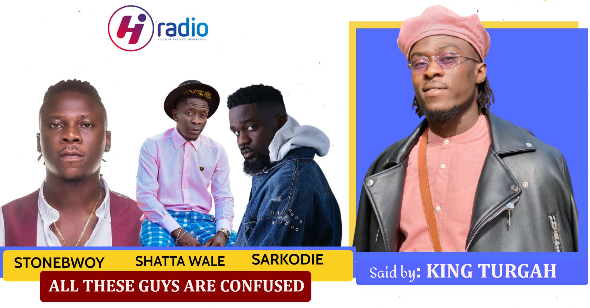 Stonebwoy, Shatta Wale, Sarkodie And All The Top Arts In GH Are All Confused.