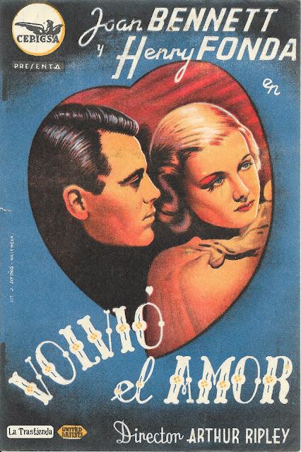 Programa de Cine - Volvió el Amor - Henry Fonda - Joan Bennett