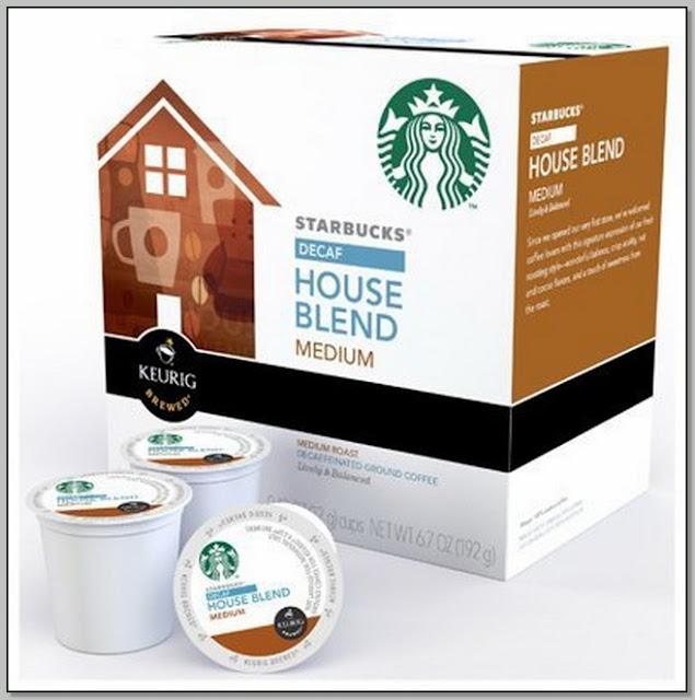 Starbucks House Blend Coffee Caffeine