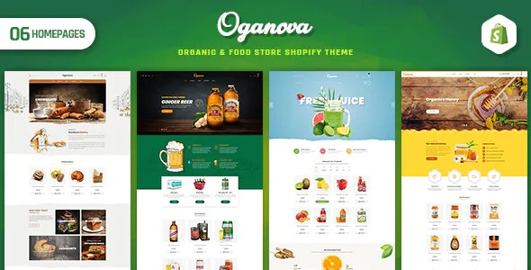 Best Organic and Food Store Shopify Theme