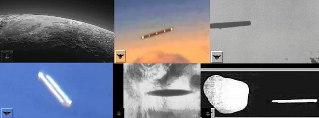 UFOs Seen Surrounding Pluto