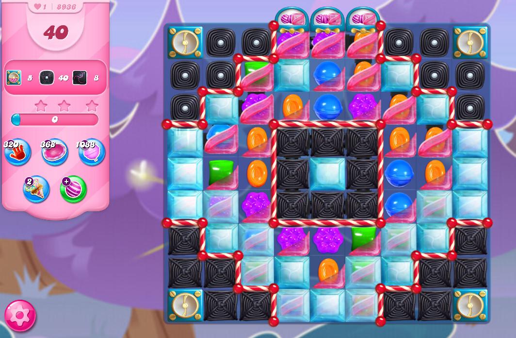 Candy Crush Saga level 8936