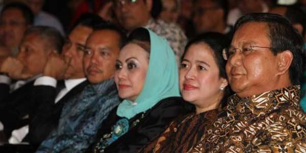 Gerindra Duga PDIP Utus Puan untuk Merayu Prabowo
