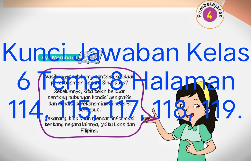 We did not find results for: Kunci Jawaban Buku Tematik Siswa Kelas 6 Tema 8 Subtema 3 Pembelajaran 4 Halaman 114 115 117 118 119 Info Pesilat