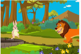 The Lion and therefore the Rabbit