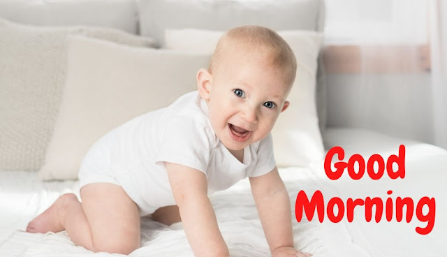 Beautiful Good Morning Baby and doll Image