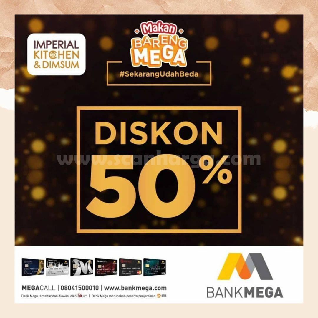Imperial Kitchen & Dimsum Transmart: Diskon 50% dengan Kartu Kredit Bank Mega