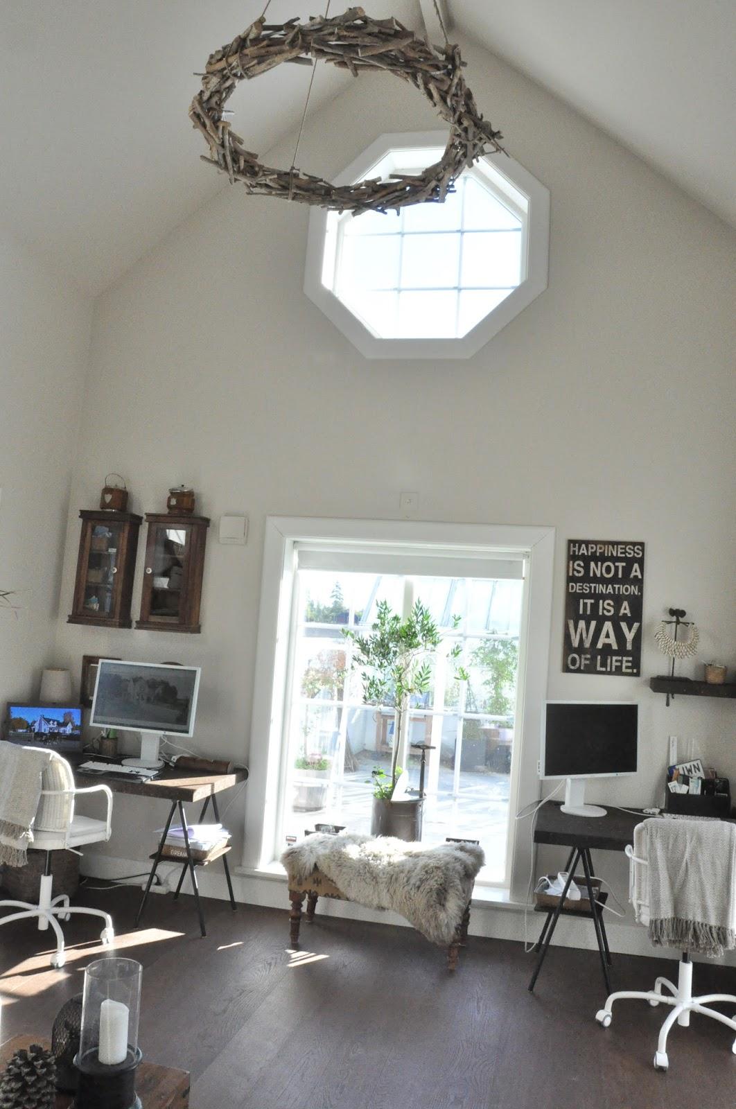 Den vita drömgården: kontoret