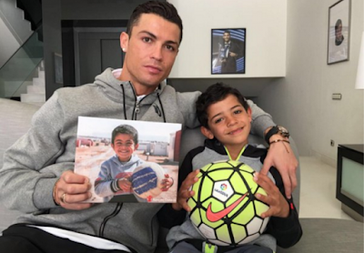 #Ronaldo named as the most charitable athlete...#CR7
