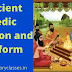 Ancient Vedic religion and its form