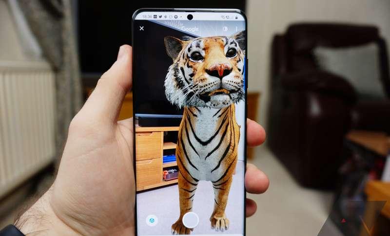 Cara Menampilkan Hewan 3D di Google (AndroidPolice.com)