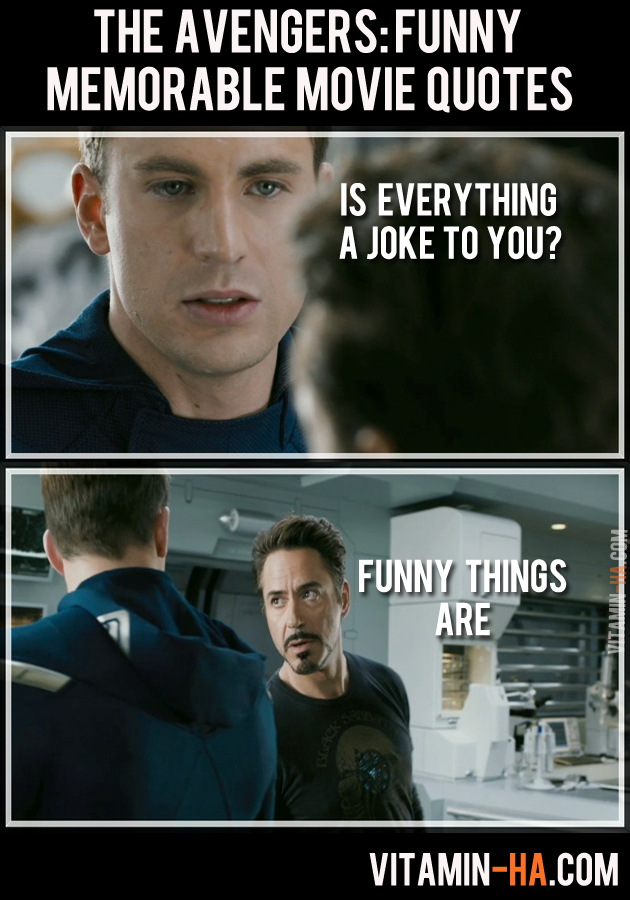 Funny Things Tumblr S Ever Said About The Avengers: Newsonthedot: THE AVENGERS (2012): Funny And Memorable Quotes