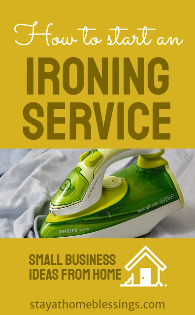how to start an ironing service