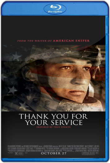 Thank You for Your Service (2017) HD 1080p y 720p Latino