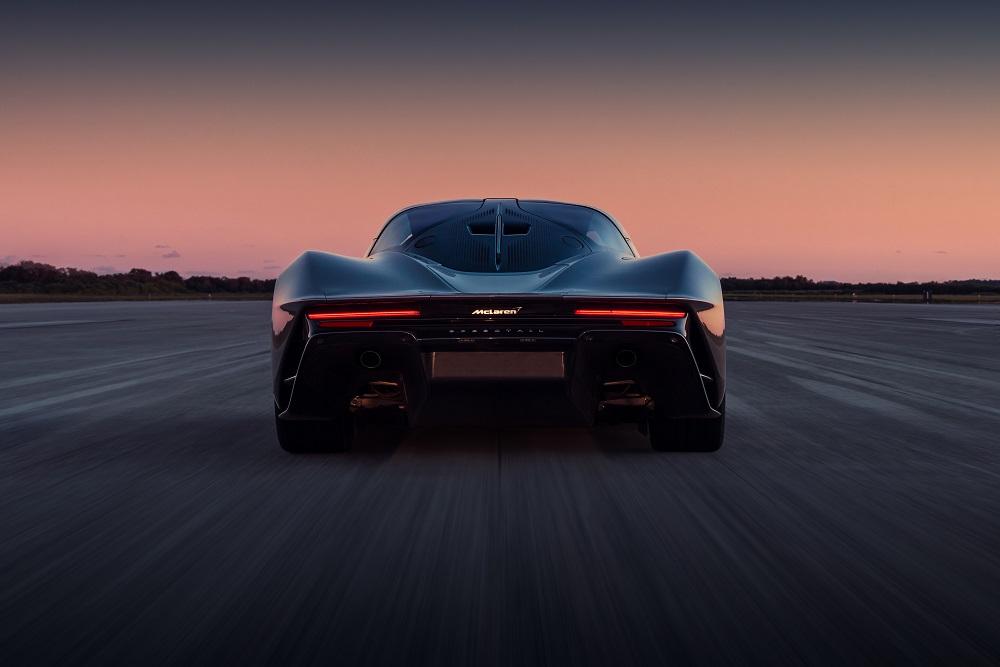 McLaren Speedtail hits 403 km/h at Kennedy Space Center