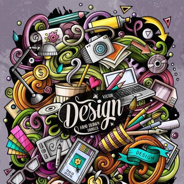 line art design illustration,