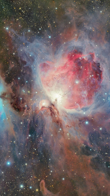 Space, Universo, Orion Nebula, Galaxy, Stars