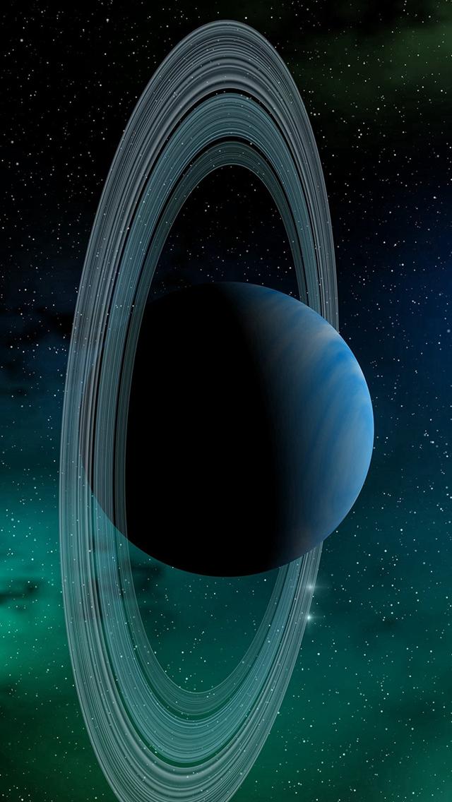 Universo Papel de Parede para Celular Saturno