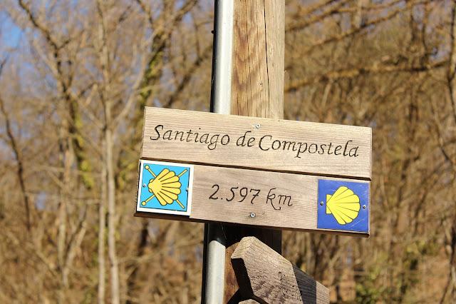 El peregrinaje a través del Camino de Santiago, comienza en México