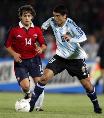 Chile y Argentina en Clasificatorias a Alemania 2006, 13 de octubre de 2004