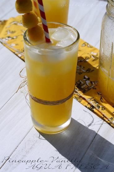 Pineapple-Vanilla Agua Fresca