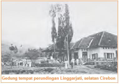 Gedung tempat perundingan Linggarjati