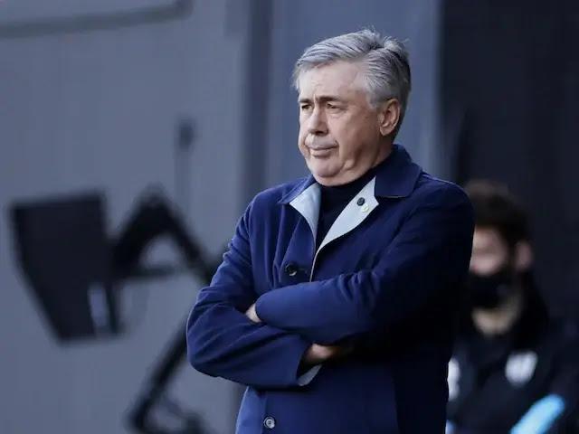Carlo Ancelotti  on Everton Photo