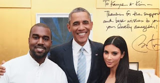 Kanye West With President Obama by Malkam Dior