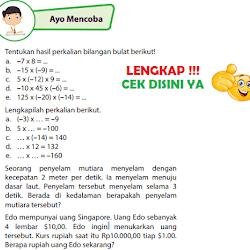 Kunci Jawaban Buku Senang Belajar Matematika Kelas 6 Halaman 57 Guru Galeri