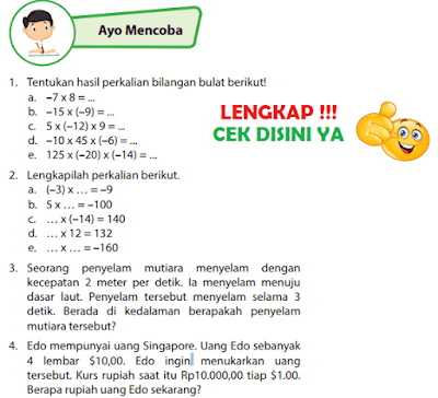 Kunci Jawaban Buku Senang Belajar Matematika Kelas 6 Halaman 42 43 49 www.simplenews.me