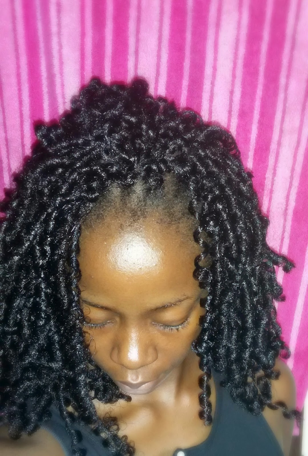 Crochet Hair At Night : Momas Healthy Hair Journey: Protective Style - Crochet Braids