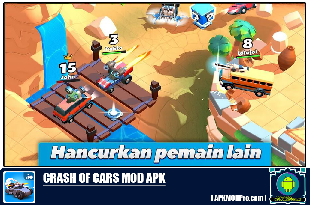Download  Crash of Cars Mod Apk [Unlimied Money/Gems/Coins] Terbaru 2020