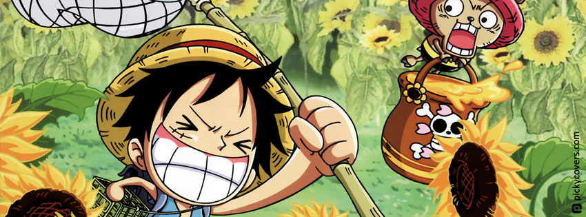 Ảnh bìa facebook One Piece - Cover facebook One Piece đẹp nhất
