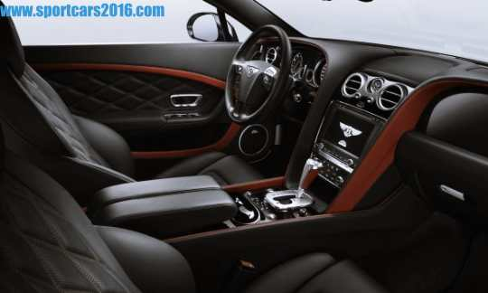 2017 Bentley Continental Interior