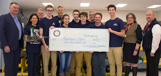 The Robotics club has been awarded $500.00