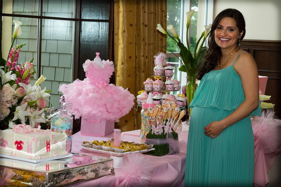 Baby Shower Food Table Pinterest
