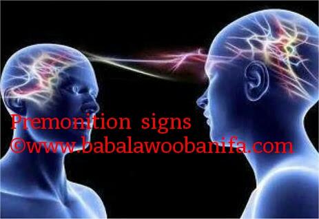 BABALAWO OBANIFA: Premonition - Signs Of Premonition (Ami ifunra)