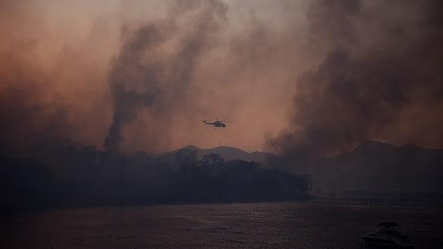 Πυρκαγιά στην Αχαΐα: 16 τραυματίες -  Κάηκαν 20 σπίτια