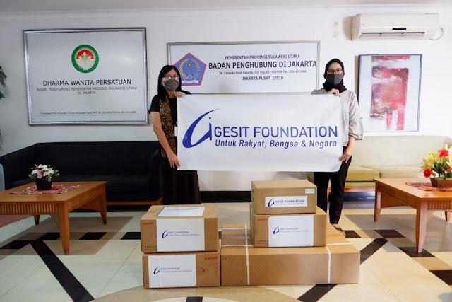 Pemprov Sulut Terima Bantuan Non Invasive Ventilator Dari Pusat Gesit Foundation
