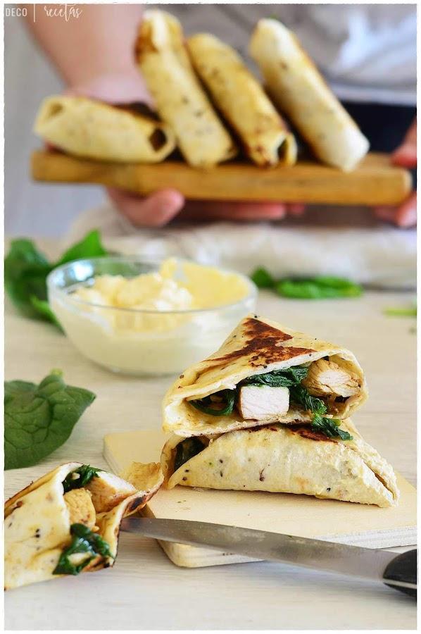 cena rápida- cena ligera- cena fácil- receta de cena- Samosas vegetales
