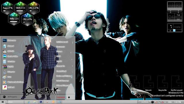 One Ok Rock Theme Win 8/8.1 by Enji Riz Lazuardi