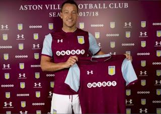 Chelsea Legend John Terry Joins Aston Villa