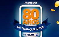 Promoção Cabine Premiada Tigre 80 Anos tigre80anos.com.br