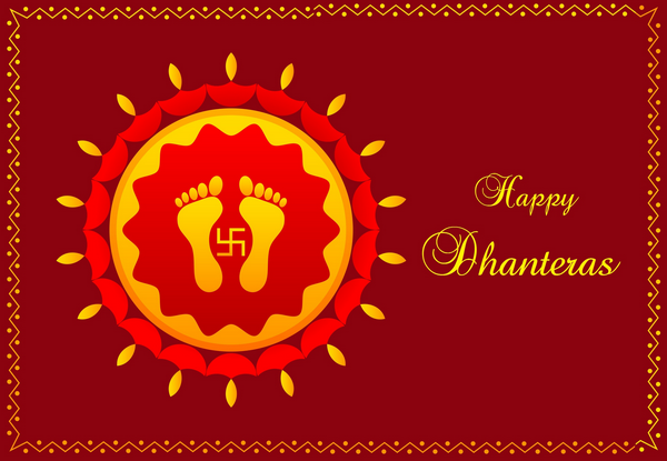 Dhanteras Marathi SMS Wishes Messages Images Cards
