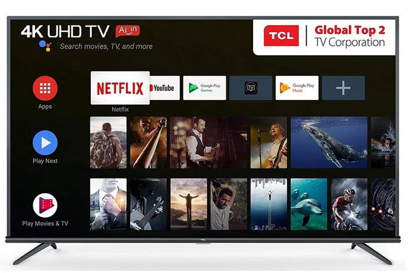 TCL released a new series of AI TV with 4K display in India