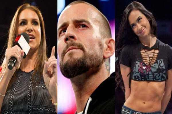 ماذا قالت ستيفاني مكمان عن احتمال عودة سي ام بانك وأي جاي لي ل WWE؟