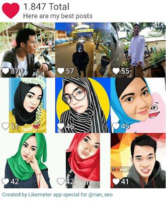 Cara Mengetahui Total Like Foto Instagram Menggunakan Likemeter