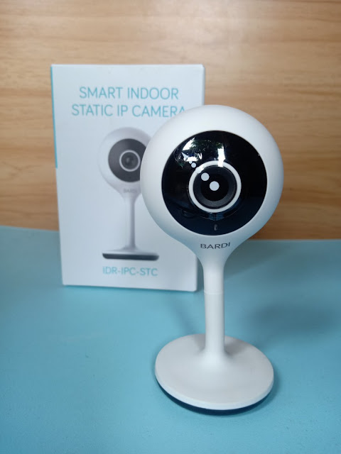 bardi smart indoor static ip camera