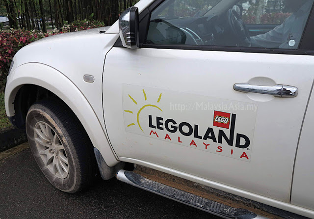 Official car of Legoland Malaysia